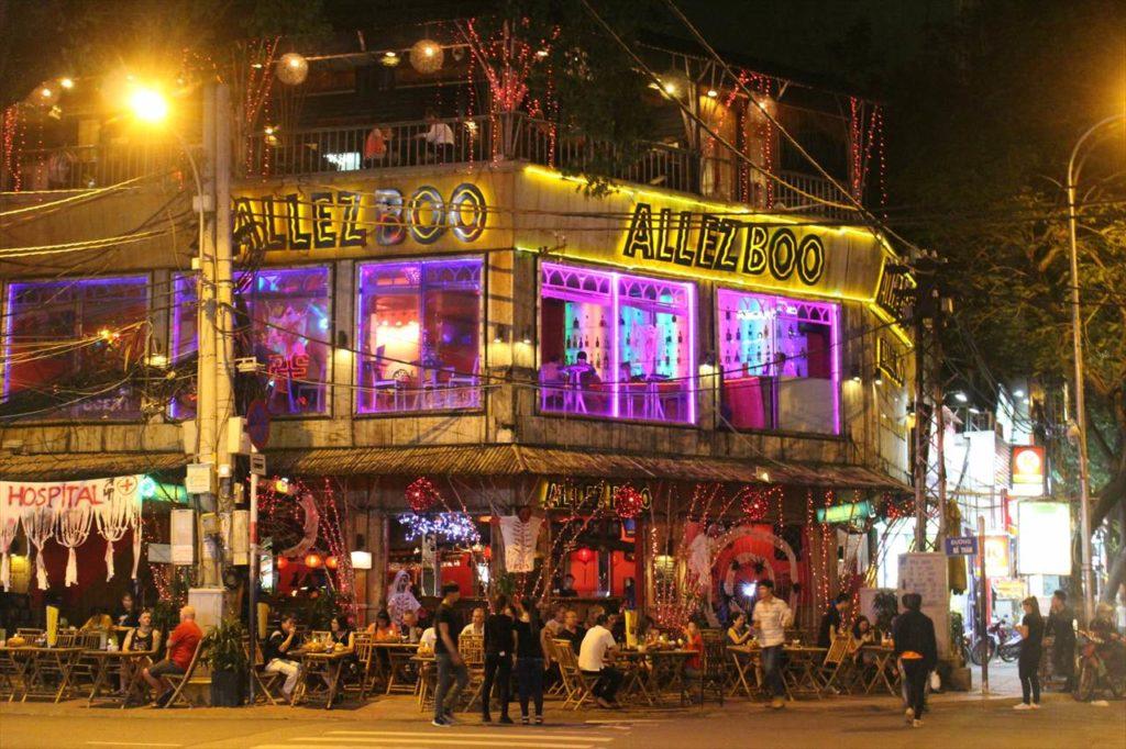 ホーチミンのホテルエリア③:東南アジア好きにおすすめ!「ファングーラオ(バックパッカー街)」