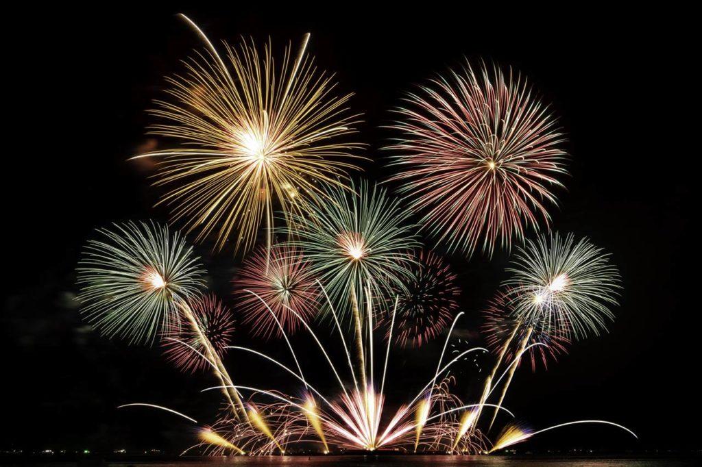 12月31日の大晦日には花火もあがる!