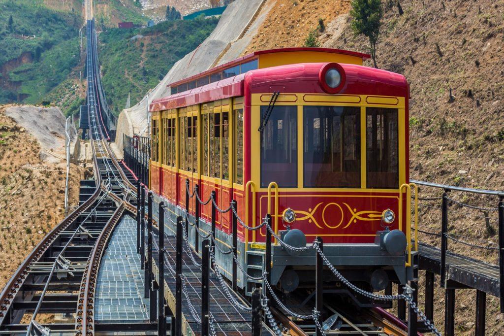 サパにある列車