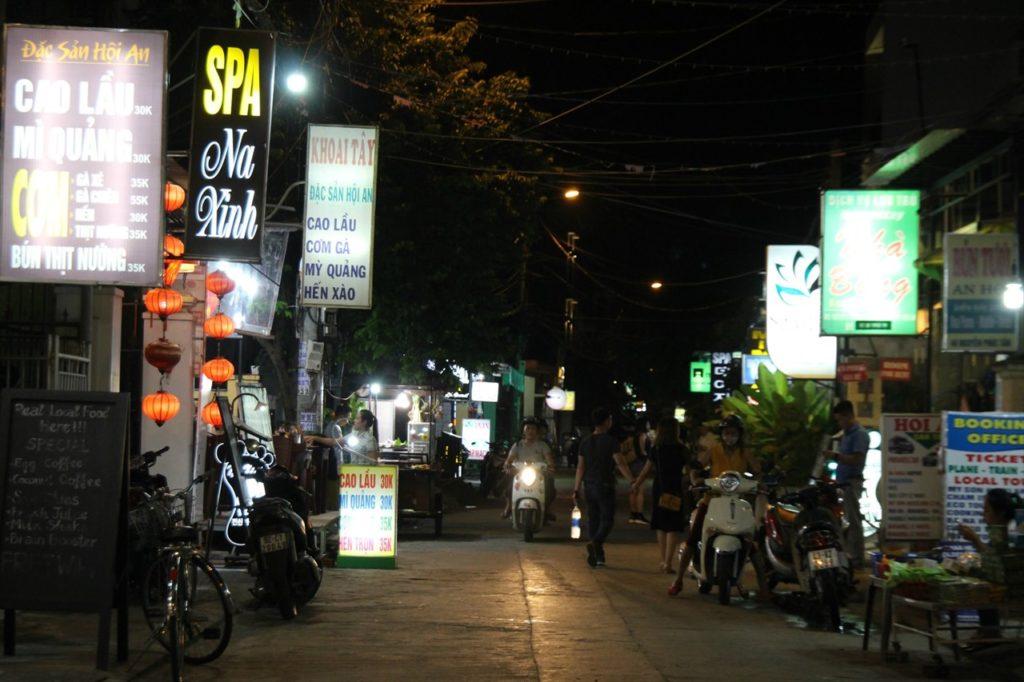ホイアンのホテルエリア②:ベトナムらしい南国香る立地「ナイトマーケット周辺エリア」