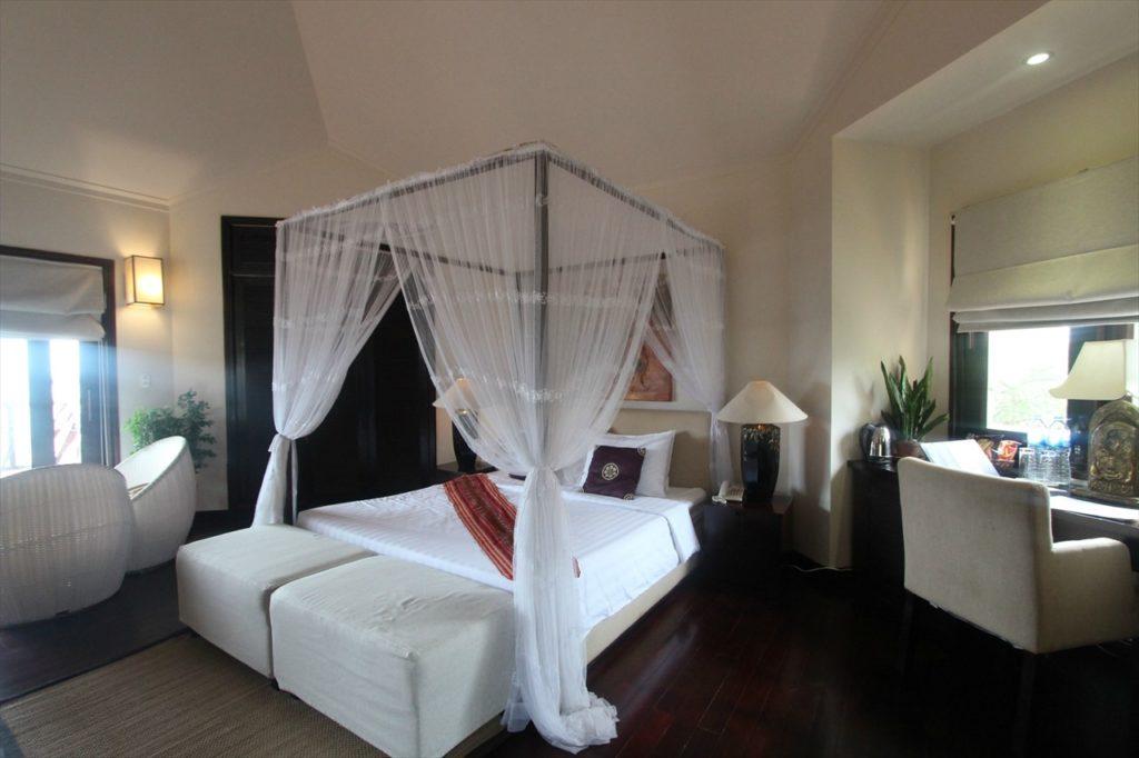 南国ベトナムらしい寝室