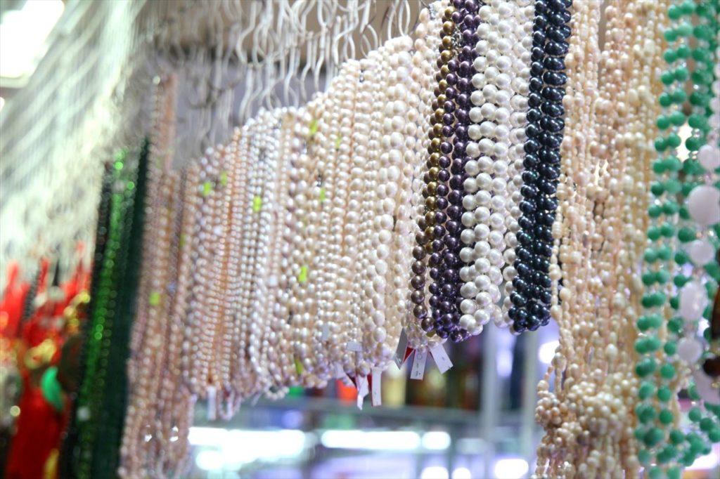 沿岸地域の要所に産地を持つ「真珠」はネックレスに最適!