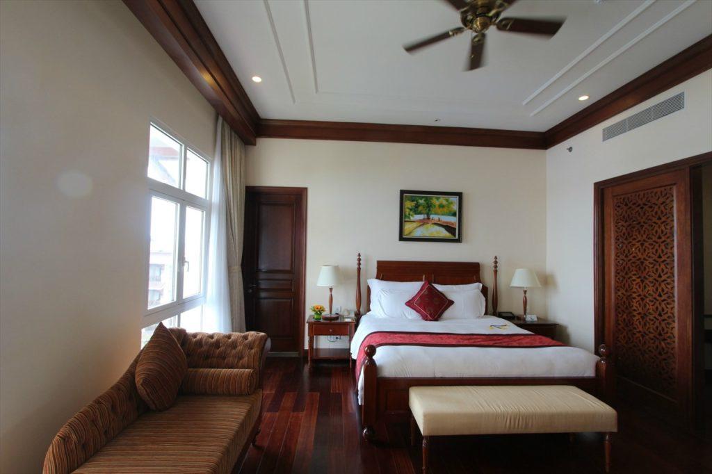 もちろんホテルもおすすめ!客室は南国ベトナムらしい造り