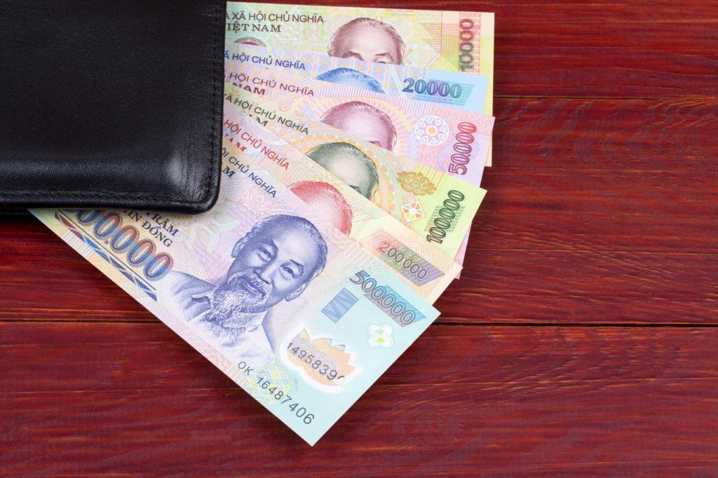 ベトナムドンから円の換算方法