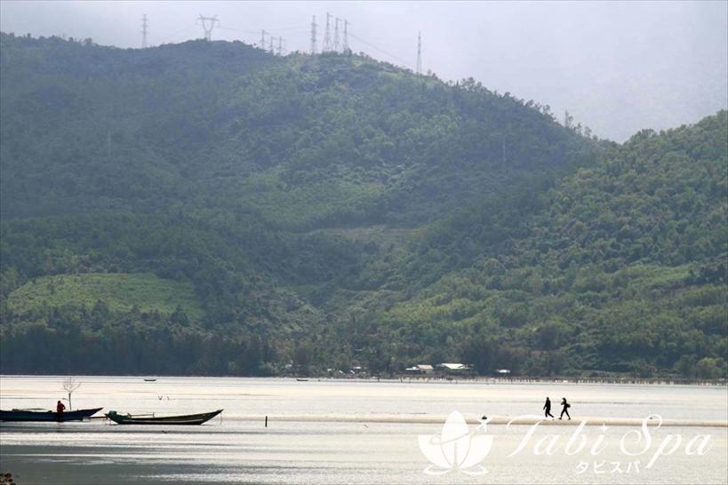 4.ベトナムリゾート地のダナンでは「ラグーン」の風景で貴重な体験を