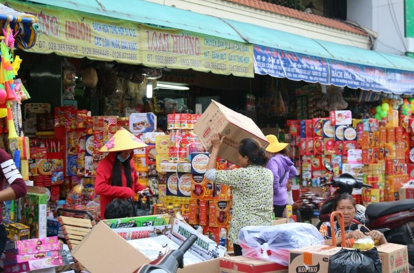 ホーチミン最大の中華街「チョロン」が目と鼻の先