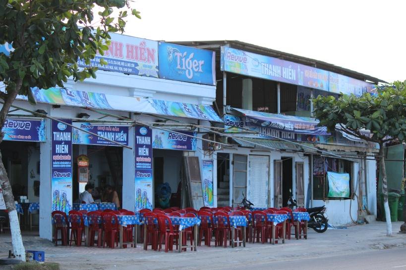 ベトナムの海鮮食堂