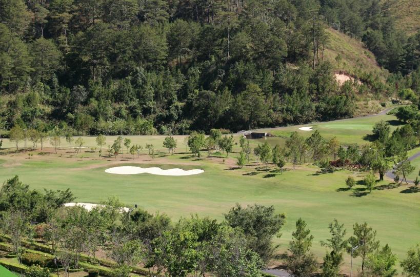 スイスベルリゾートのゴルフ場