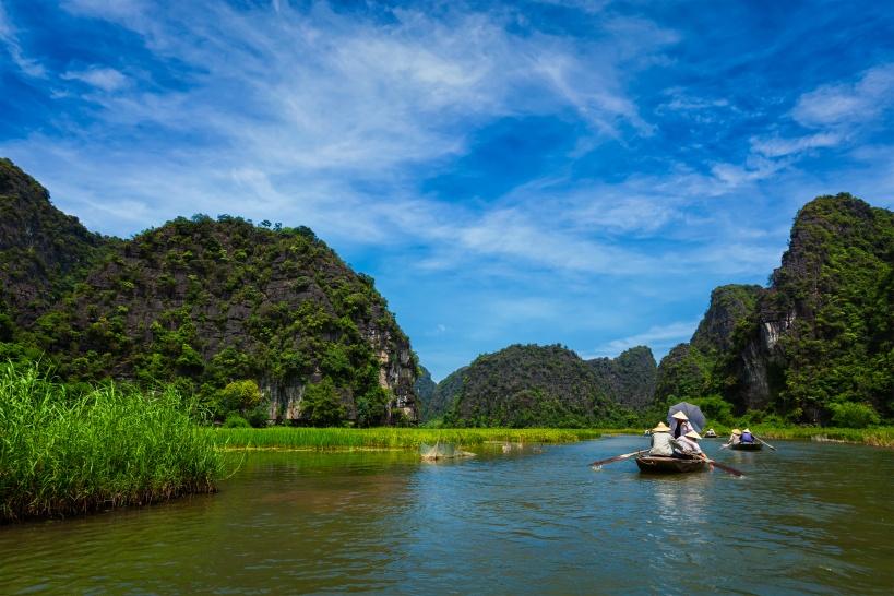 チャンアン複合景観のボートツアー