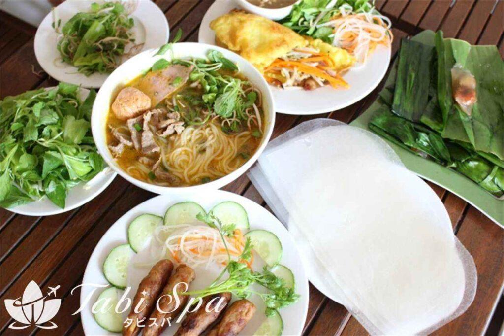 一般のベトナム料理とは一線を画すフエ料理