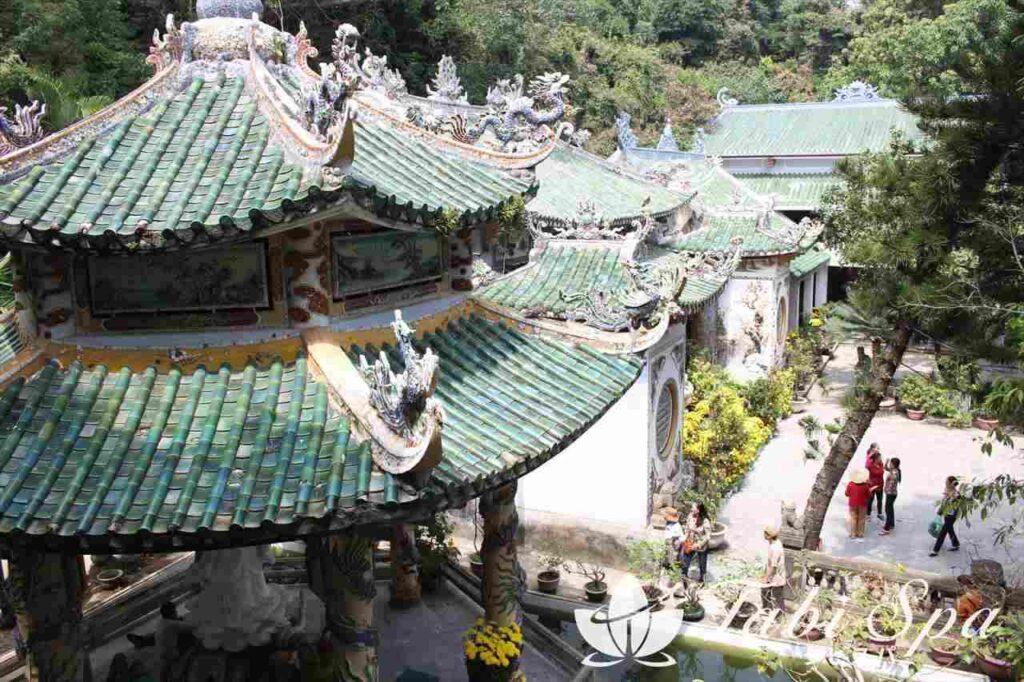 五行山のお寺