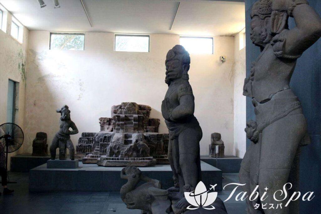 ② ミーソン遺跡に行く前にチャンパの学習を「チャム彫刻博物館」
