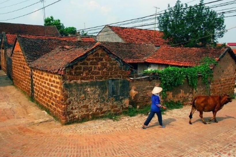 ドゥンラム村の様子
