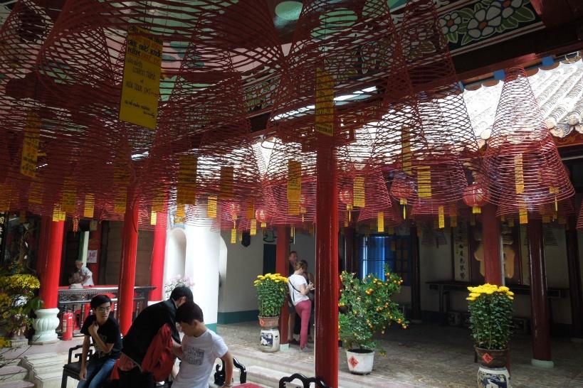 中華色漂う福建会館を見学