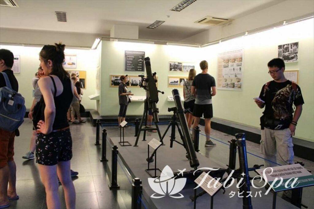 10:30/15:30 ベトナム戦争中のホーチミンの様子を写真で見学「戦争証跡博物館」